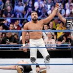 Andrade Cien Almas Debut Match At Smackdown Live