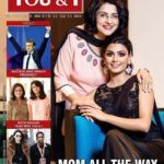 Anisha Ambrose along with her mother appeared on cover of magazine 'You and I'