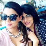 Anisha Ambrose with her mother Priya Ambrose