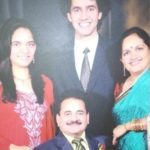 Anjum Moudgil With Her Family
