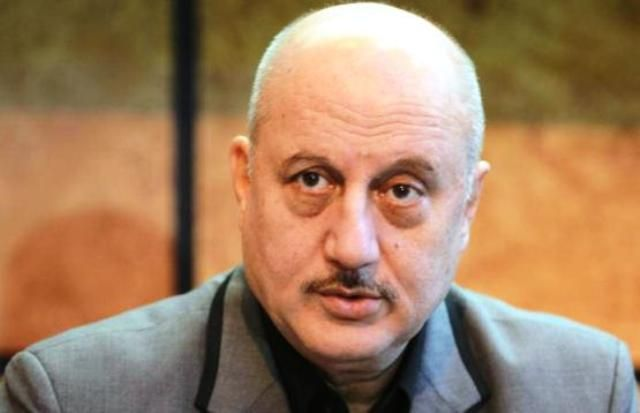 Anupam Kher Bald Headed