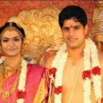 Arthi Venkatesh With Her Husband Anirudha Srikkanth