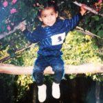 Ashrut Jain childhood photo