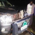 B. S. Yeddyurappa Son's Car Accident