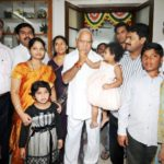 B. S. Yeddyurappa With His Family