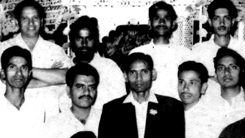 BS Yediyurappa during his younger days