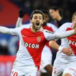 Bernardo Silva playing for Monaco