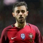 Bernardo Silva playing for Portugal