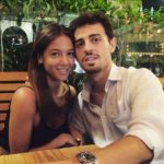 Bernardo Silva with His Girlfriend Alicia Verrando