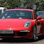 Bobby Deol In His Car Porsche 911 Carrera 4S