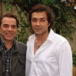 Bobby Deol With His Father