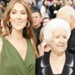 Céline Dion With Her Mother