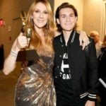 Céline Dion's With Her Elder Son Rene-Charles