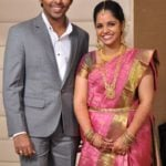 G.V. Prakash Kumar with his wife Saindhavi