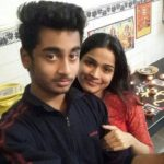 Hema Sood with her Brother