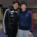 Heung Min Son with His Brother