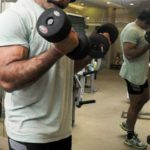 Himanshu Roy During Workout