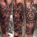 Isco Clock Tattoo