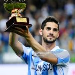 Isco winning The Golden Boy Award 2012