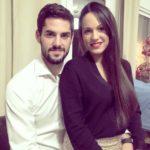 Isco with Victoria Calderon