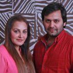 Jaya Prada With Her Step-Son Siddhu