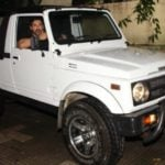 John Abraham In His Car Maruti Suzuki Gypsy