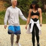Justin Bieber With His Ex-Girlfriend Ashley Moore