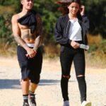 Justin Bieber With His Ex-Girlfriend Audreyana Michelle