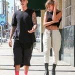 Justin Bieber With His Ex-Girlfriend Hailey Baldwin