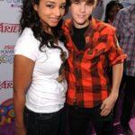 Justin Bieber With His Ex-Girlfriend Jessica Jarrell