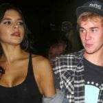 Justin Bieber With His Ex-Girlfriend Paola Paulin