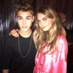 Justin Bieber With His Ex-Girlfriend Rita Ora