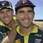 Justin Langer With Matthew Hayden