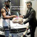 KL Rahul - Mercedes AMG C 43