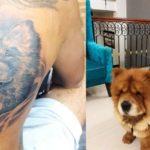 KL Rahul back tattoo