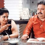 Manoj Pahwa And His Wife In A Play