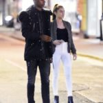 Marcus Rashford with His Girlfriend