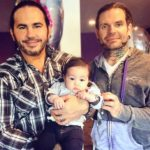 Matt Hardy With His Brother Jeff Hardy