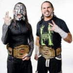 Matt Hardy With His Tag Team Partner Jeff Hardy