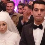 Mohamed Salah with His Wife