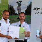 Murali Kartik In A Golf Competition