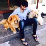 Naga Shaurya loves dogs