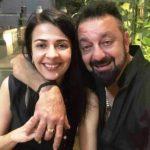 Namrata Dutt With Sanjay Dutt