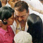 Namrata Dutt With Sanjay Dutt And Priya Dutt