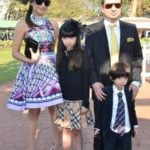 Natasha Poonawalla With Her Family
