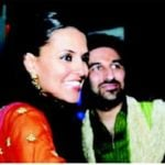 Neha Dhupia With Her Brother