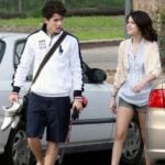 Nick Jonas with Selena Gomez