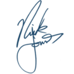 Nick Jonas's Signature