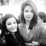 Nikki Sharma with Priyanka Chopra