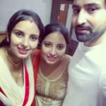 Pradeep Duhan with his sisters